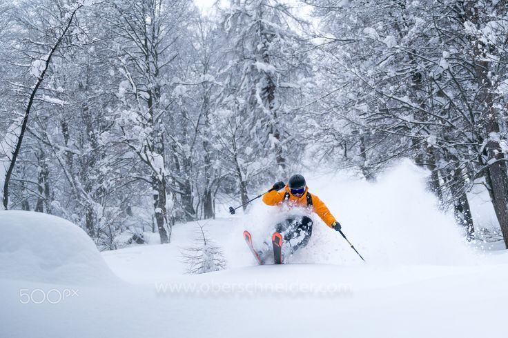 """Powder Skiing in Winter Wonderland - Image available for licensing.  Order prints of my images online, shipping worldwide via  <a href=""""http://www.pixopolitan.net/photographers/oberschneider-christoph-a6030.html"""">Pixopolitan</a> See more of my work here:  <a href=""""http://www.oberschneider.com"""">www.oberschneider.com</a>  Facebook: <a href=""""http://www.facebook.com/Christoph.Oberschneider.Photography"""">Christoph Oberschneider Photography</a> follow me on <a…"""