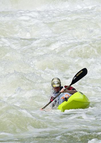 ˚White Water Kayaking