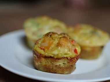 Mini Omelet CupCakes | Mom's Dish