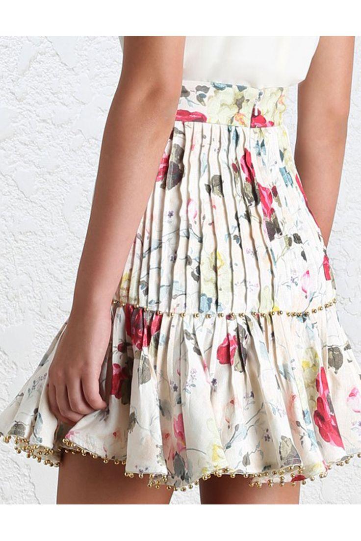 floral linen skirt - Google Search