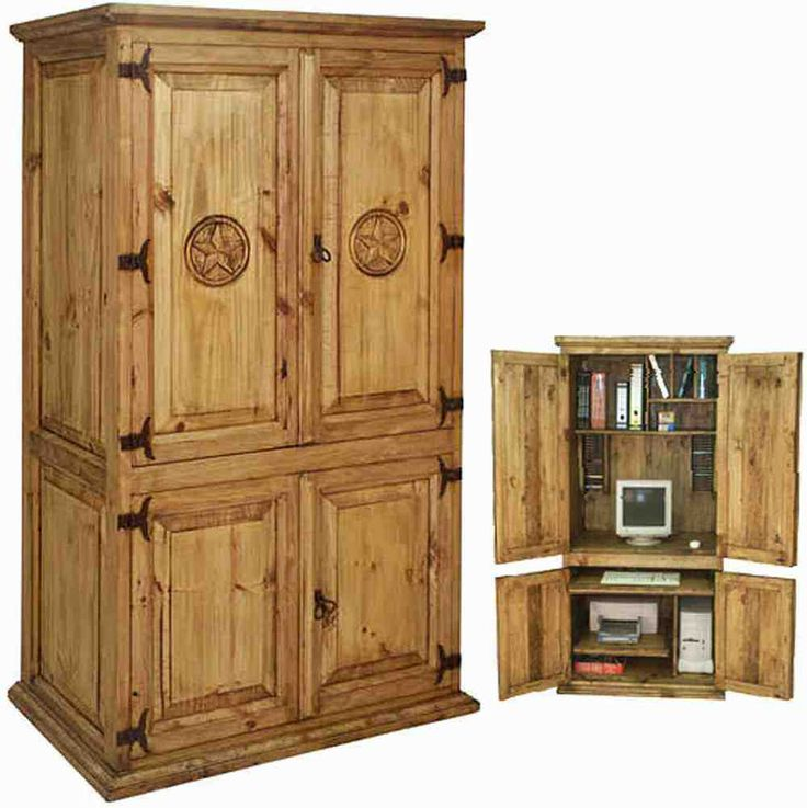 Exceptionnel Rustic Pine Armoire