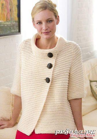 Мода на вязаное, платочная вязка - Страна Мам
