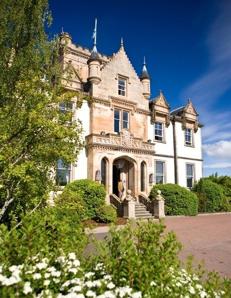 The drama and the spectacle of the Loch setting is only half the magic of The spa at the Carrick. (Pictured: Cameron House on Loch Lomond, a member of Preferred Hotels & Resorts) #UK #travel #spa
