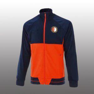 Feyenoord 2017-18 Navy Football Jacket [L409]