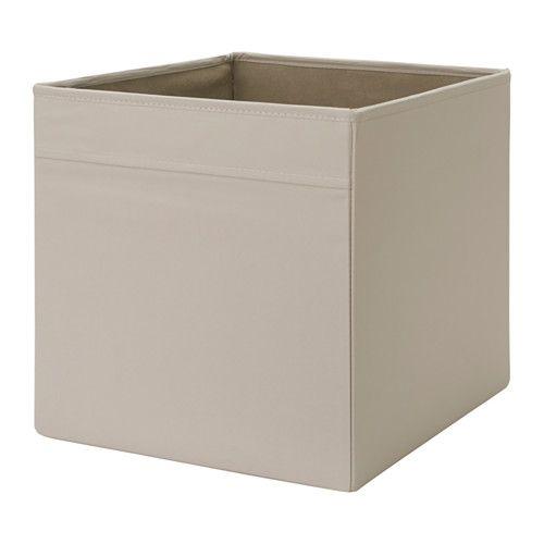 Ikea dr na fach beige f r alles von zeitungen bis for Ikea box shelf unit