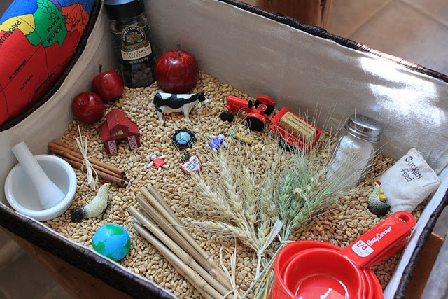 little red hen sensory