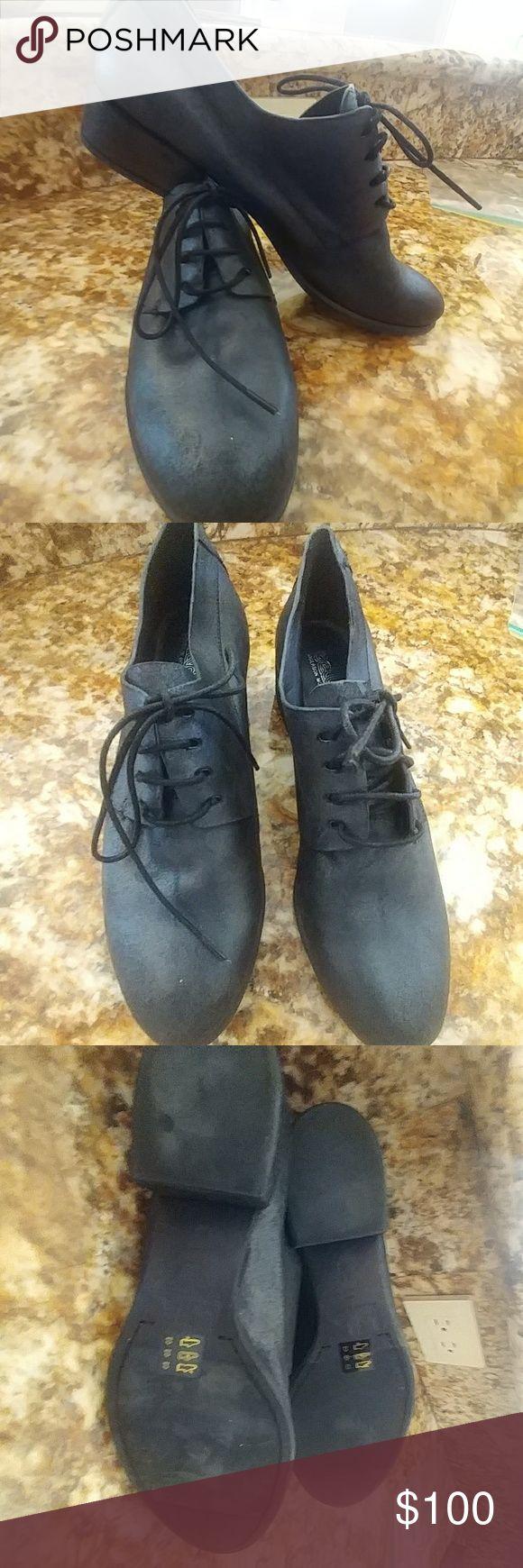 Black Lace Oxfords New Never worn Belle Sigerson Morrison Vero Cuoio. 2013 Season Belle by Sigerson Morrison Shoes Flats & Loafers