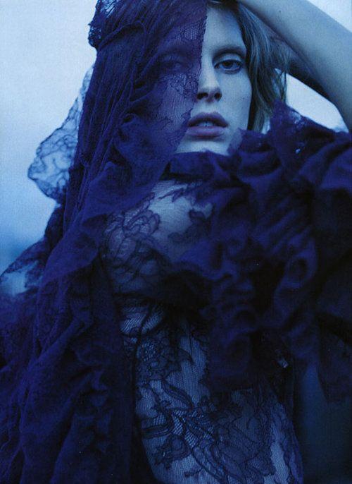 """""""Bohemian Rhapsody""""   Vogue Nippon, April 2005   photographer: Yelena Yemchuk   Iselin Steiro"""