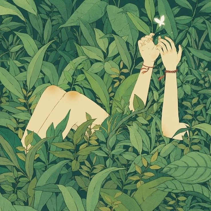 Kunst, Grün und Schmetterlingsbild