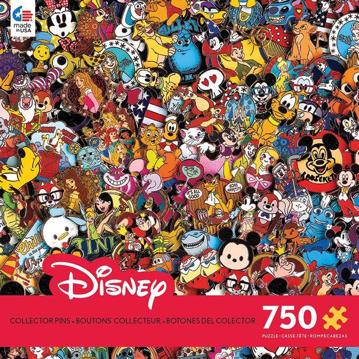 Disney Collection - Collector Pins - 750 Piece Puzzle