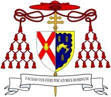 Amorial bearings of St. John Fisher,