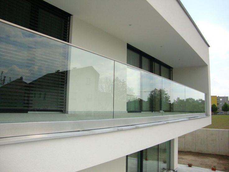 Bildergebnis für balkongeländer glas