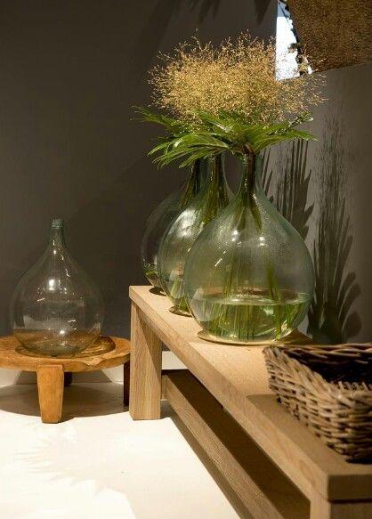 grote vazen mooi effect Okergeel / Goudgeel De Trend voor 2016. ~ Rustic Living by Gj * ~ BlogSpot.nl