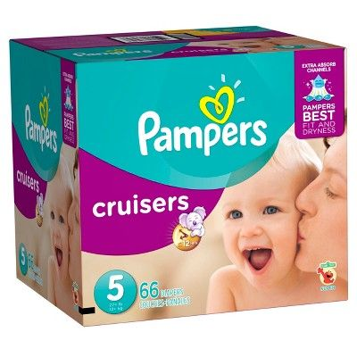 Pampers Cruisers Diapers Super Pack Size 5 (66 ct)