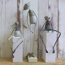 Paper Mache Figures by Jane Strawbridge