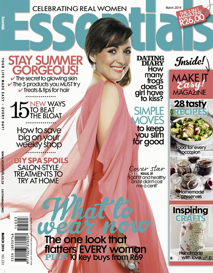 March 2014 cover of Essentials magazine