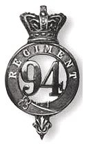 Badge of the later period of the 94th Regiment