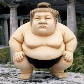 Found it at Wayfair - Basho The Sumo Wrestler Statue