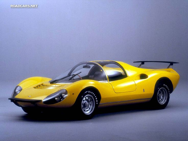 1967 Ferrari Dino 206 Pininfarina   So Futuristic For