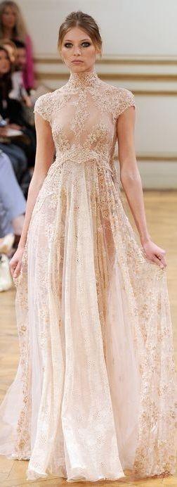 Zuhair Murad at Paris Haute Couture Fashion Week   Fall 2013