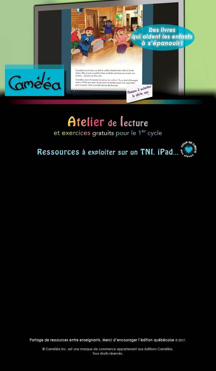 Ressources et exercices cycle 1 pour enseignants - Tableau Noir Interactif TNI | Lecture ...