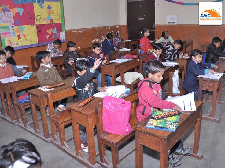 NLC EXAM room, students giving exam