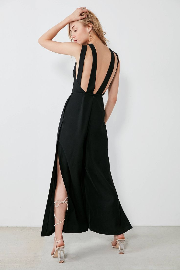 Slide View: 1: Finders Keepers Luca Strappy-Back Jumpsuit