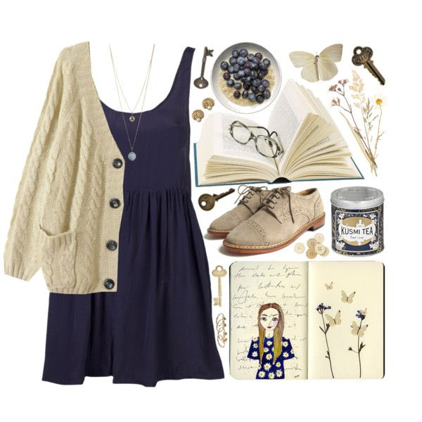 """""""Blueberries and Cream"""" by child-of-the-tropics on Polyvore"""