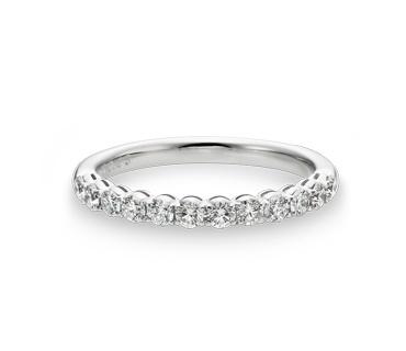 GINZA TANAKA BRIDAL 結婚指輪 Ladies Marriage ring, Half Eternity ring