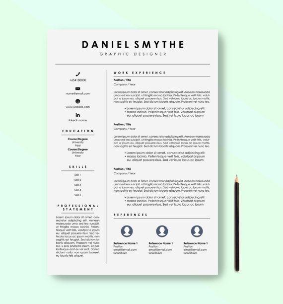 12 best resume building images on Pinterest Cv template, Resume - resume building template