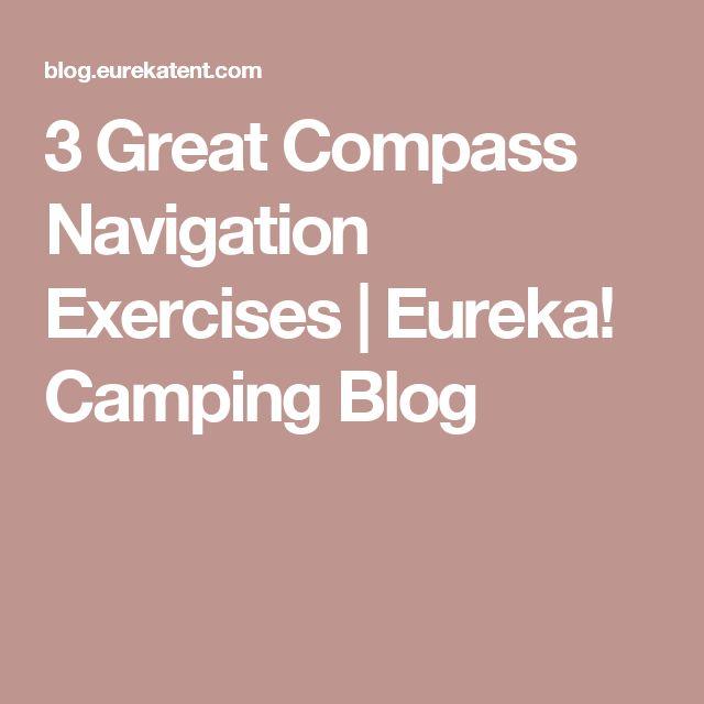 3 Great Compass Navigation Exercises   Eureka! Camping Blog