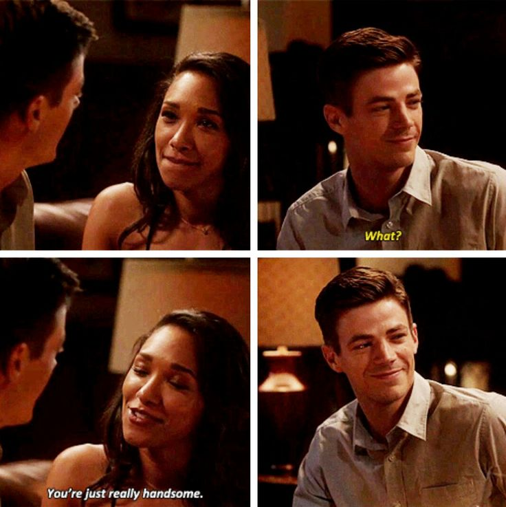 "#TheFlash 3x04 ""The New Rogues"" - Iris and Barry"