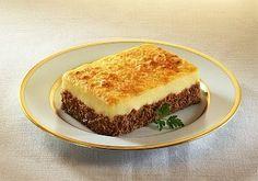 Receta de Pastel de carne y papas facil, rapido y muy rico. Como hacer Pastel de carne y papas. Pastel de carne picada con pure de papas casero, muy rico y facil de hacer.