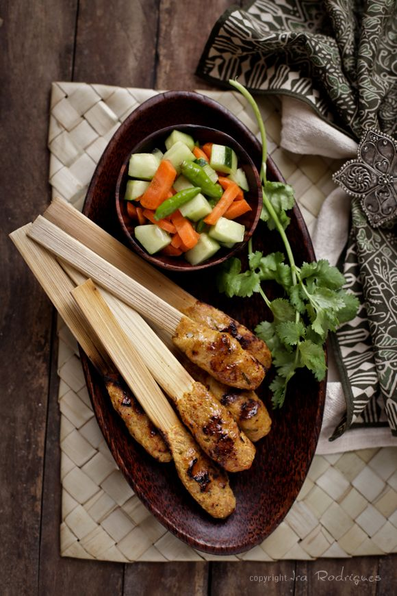 guest post: balinese chicken sate | My Cooking Hut
