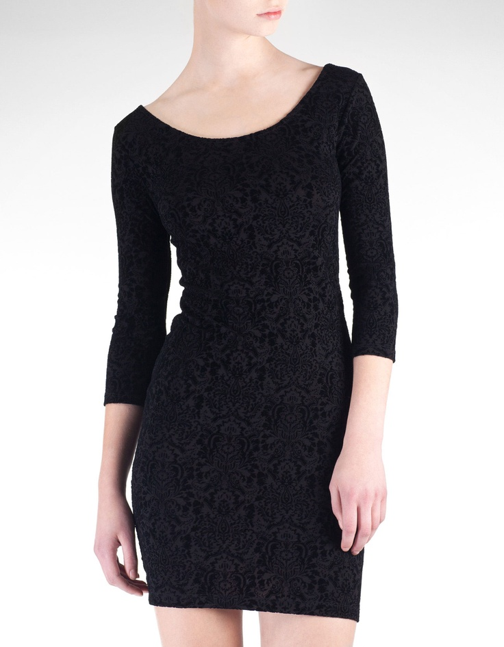One of those dresses that looks like it costs a lot more than it actually did. Stradivarius.