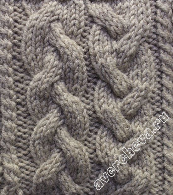 Knitting Stitches Weaving : http://avercheva.ru/?p=311 Knitting tutorial Pinterest Cable, Knitting ...