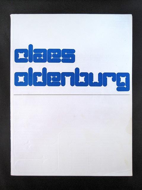 Wim Crouwel — Claes Oldenburg