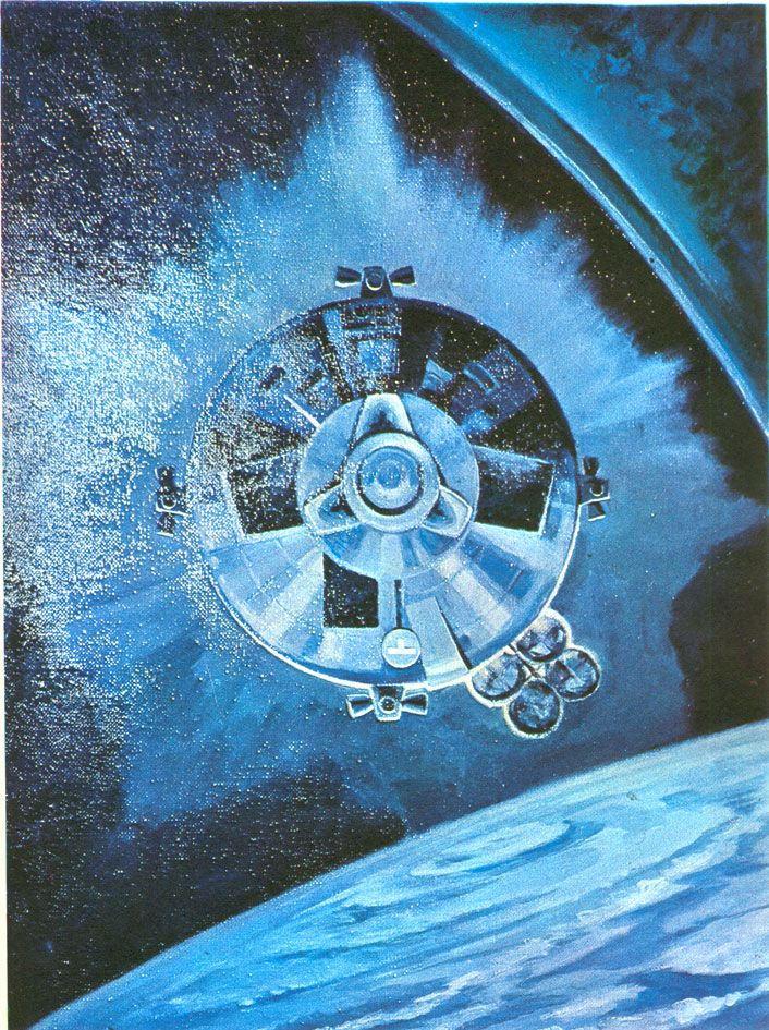 after one look at this planet any visitor from outer space would say 'i want to see the manager ― william s. burroughs | corona | artist: soviet cosmonaut alexey leonov