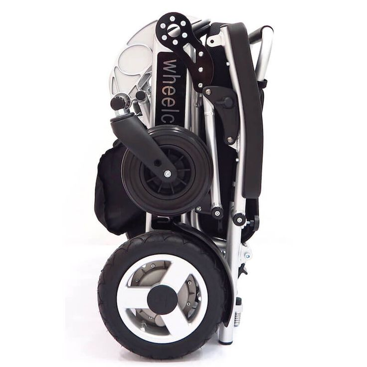 Foldawheel PW-999UL is the lightest power wheelchair in the world. Foldable, Portable and very compact with travel bag. Folds / opens in just 5 seconds.