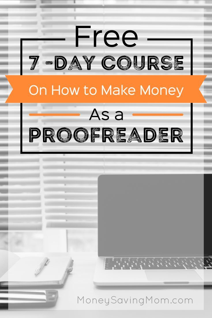 Online proofreading course documents