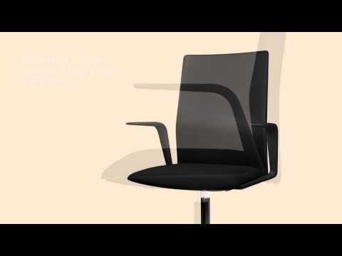 Chaise Bureau Design Kinesit par Arper, studio Lievore Altherr Molina