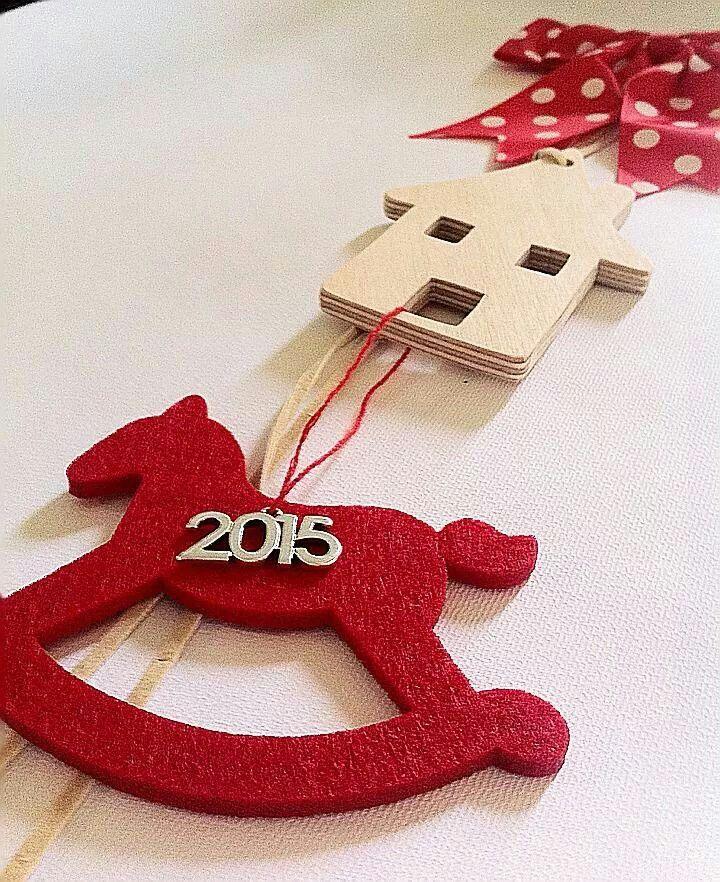 Handmade Christmas Charm By KIKOmania 13€
