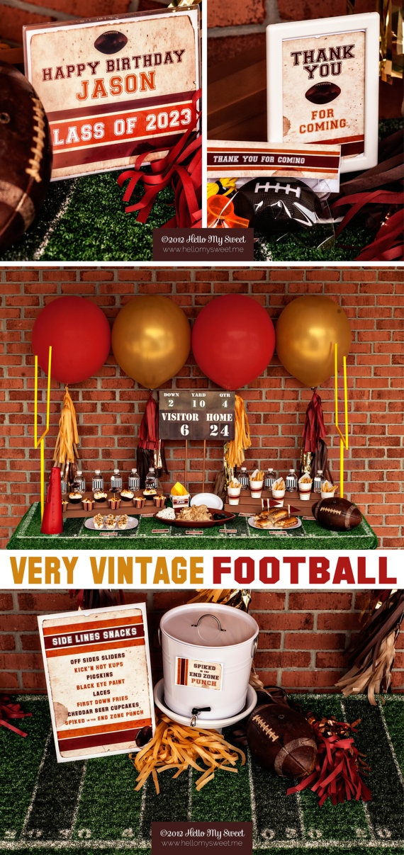 17 best images about football baby shower on pinterest football birthday wives tales and baby boy. Black Bedroom Furniture Sets. Home Design Ideas