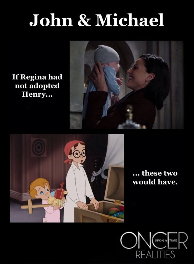 Previous: Oncer Realities: Henry Darling? Me: ...but I think he would have been given to Pan...because they were working for him.