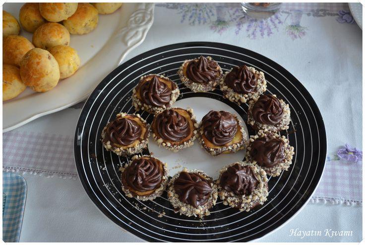 Çikolatalı Mini Tart:http://hayatinkivami.blogspot.com.tr/2017/04/cikolatali-tart.html