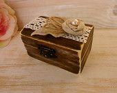 Rustic Wedding Ring Box Ring Pillow Burlap Ring Bearer Wedding Custom wood Box Shabby Chic Outdoor wedding Proposal Box