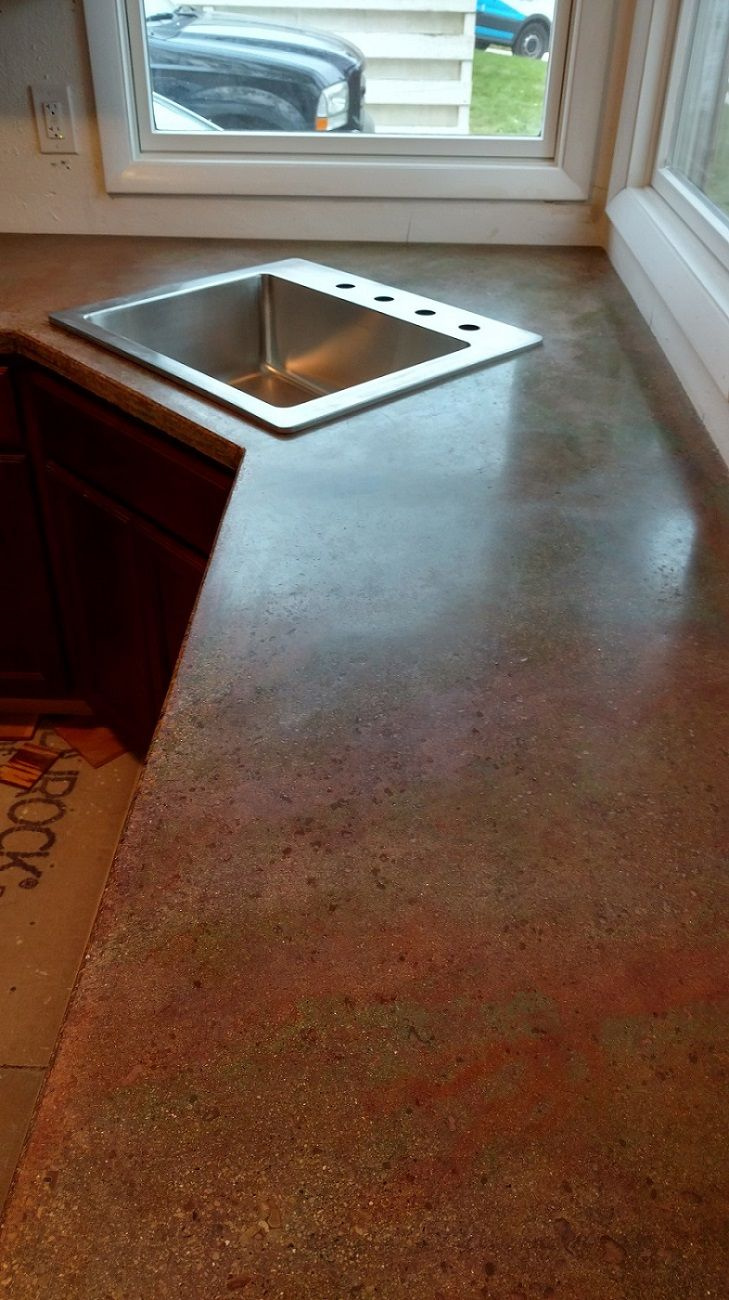 143 best Do It Yourself Concrete Countertops images on Pinterest