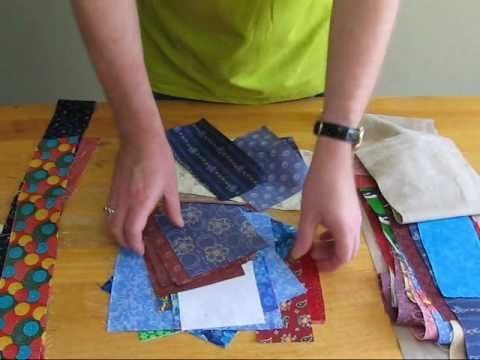 Scrap-Busting with the AccuQuilt Go! by Gene Black