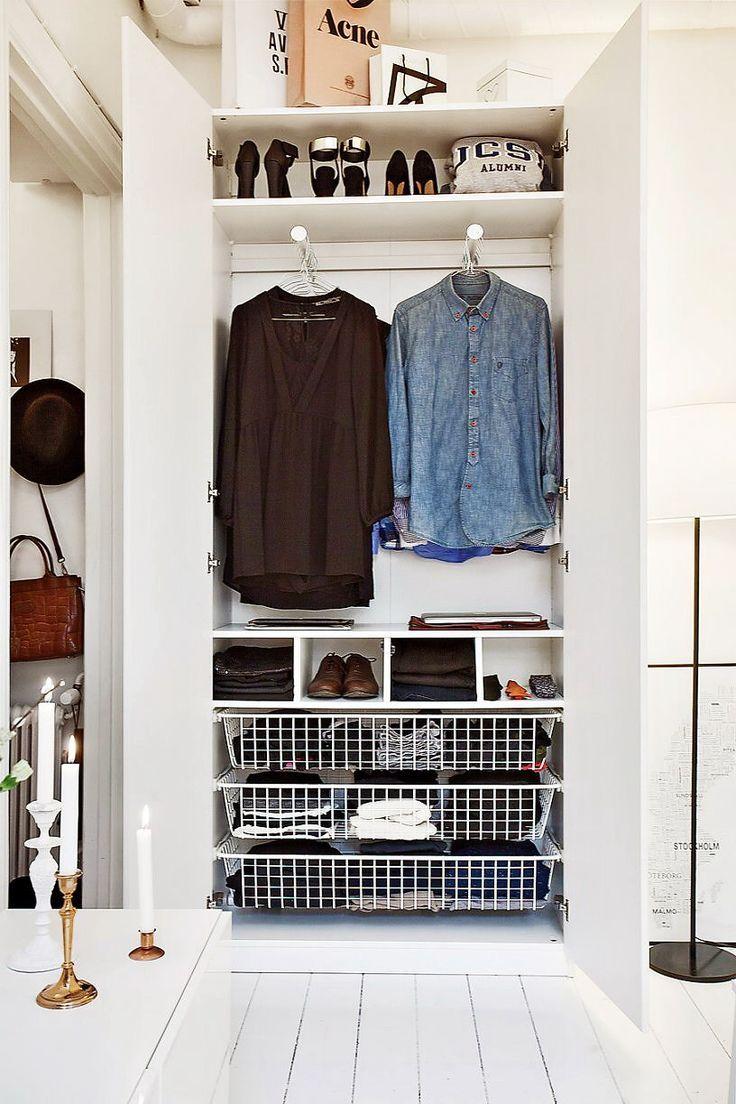 My Small Closet Upstairs.