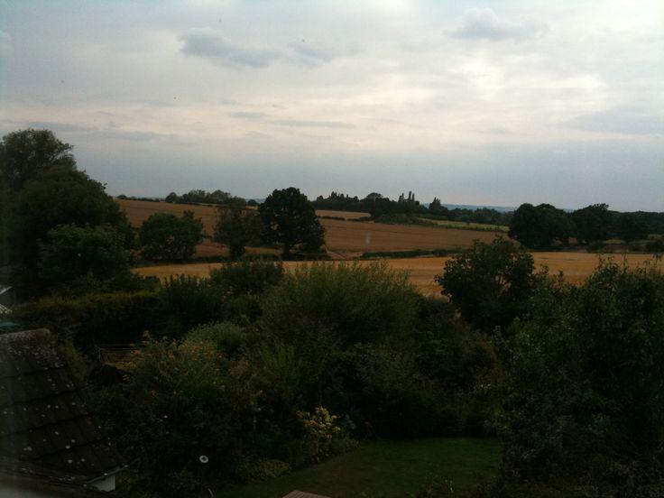 Over the fields Market Bosworth, Warwickshire